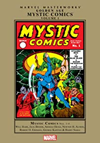 Golden Age Mystic Comics Masterworks Vol. 1