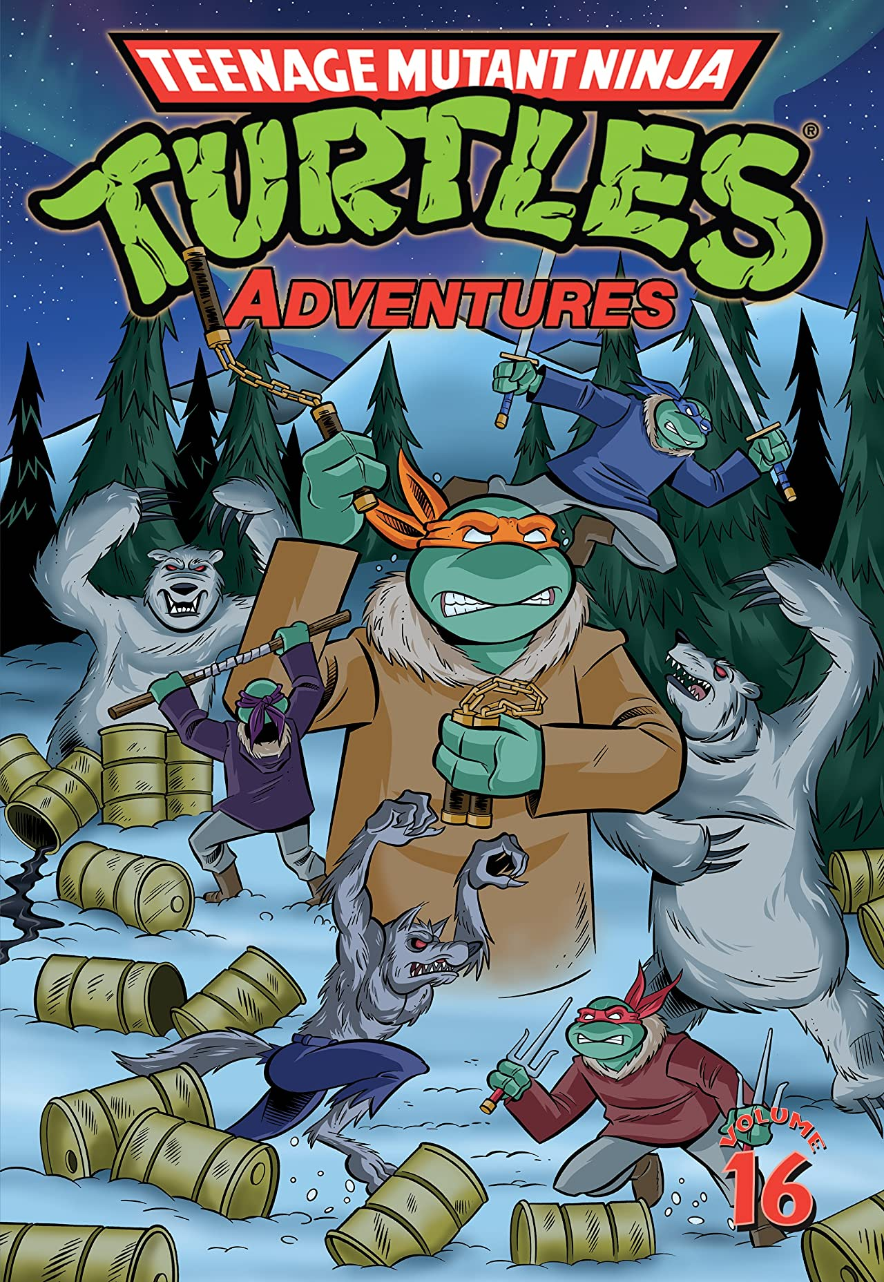 Teenage Mutant Ninja Turtles Adventures Vol. 16