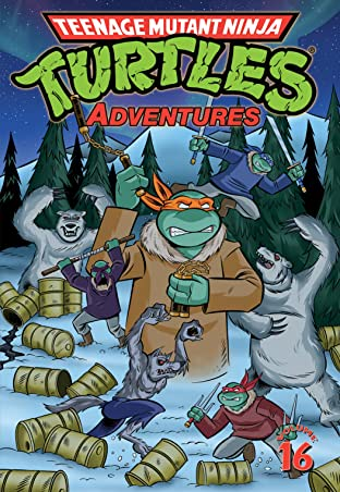 Teenage Mutant Ninja Turtles Adventures Tome 16
