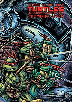 Teenage Mutant Ninja Turtles: The Ultimate B&W Collection Vol. 7