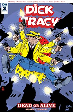 Dick Tracy: Dead or Alive No.3 (sur 4)