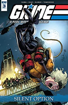 G.I. Joe: A Real American Hero: Silent Option #3 (of 4)