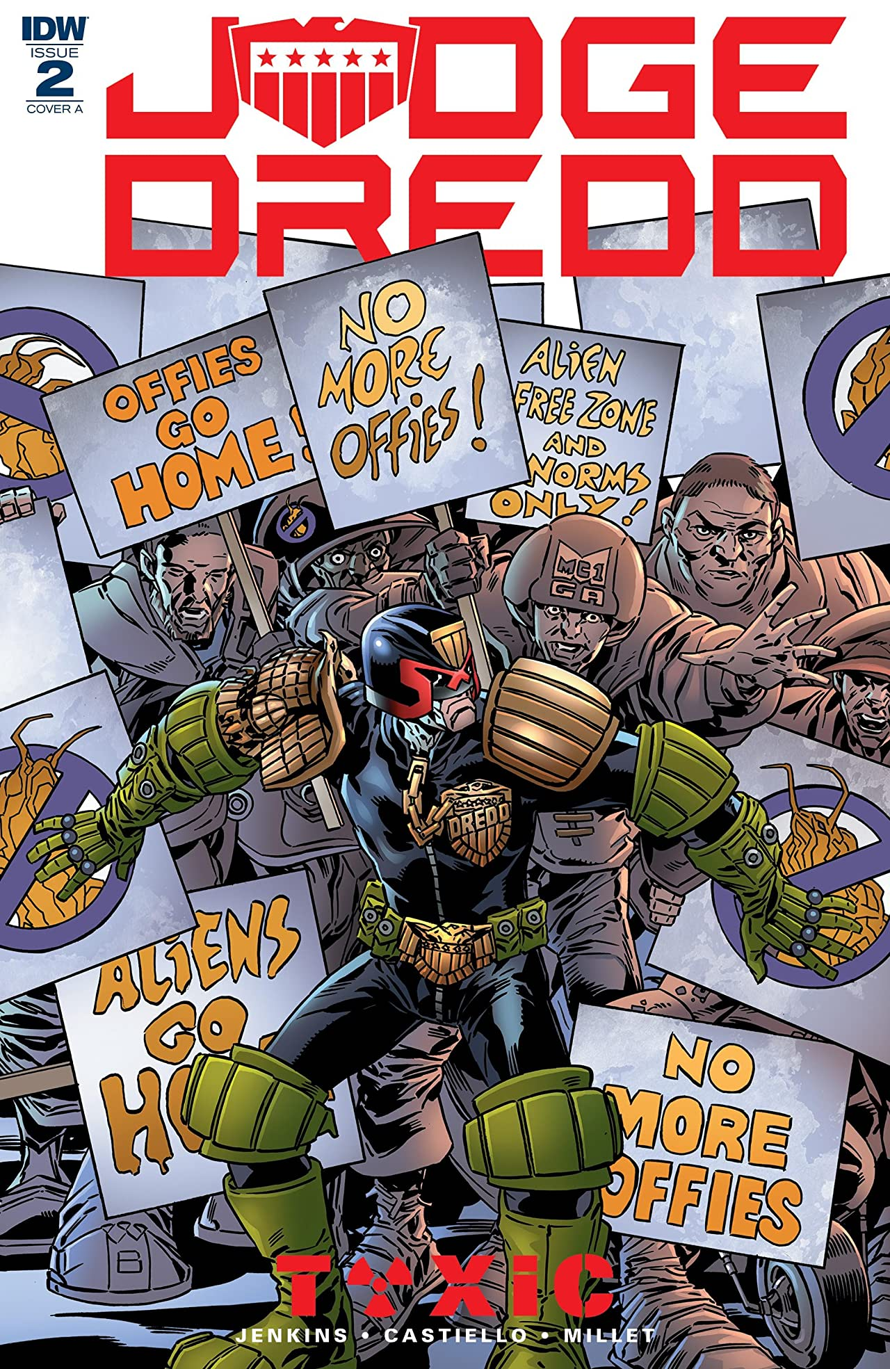 Judge Dredd: Toxic! No.2