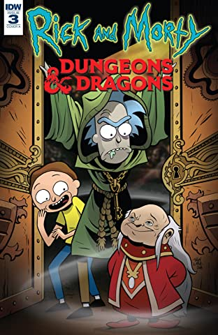 Rick and Morty vs. Dungeons & Dragons No.3 (sur 4)