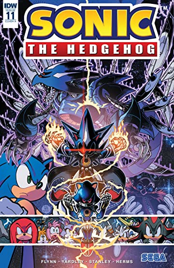 Sonic The Hedgehog (2018-) #11