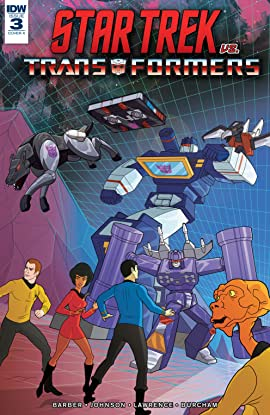Star Trek vs. Transformers #3 (of 5)