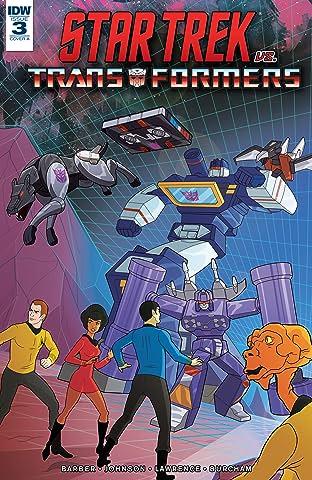 Star Trek vs. Transformers No.3 (sur 5)
