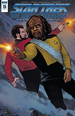 Star Trek: The Next Generation: Terra Incognita #5