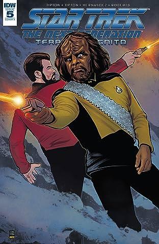 Star Trek: The Next Generation: Terra Incognita No.5
