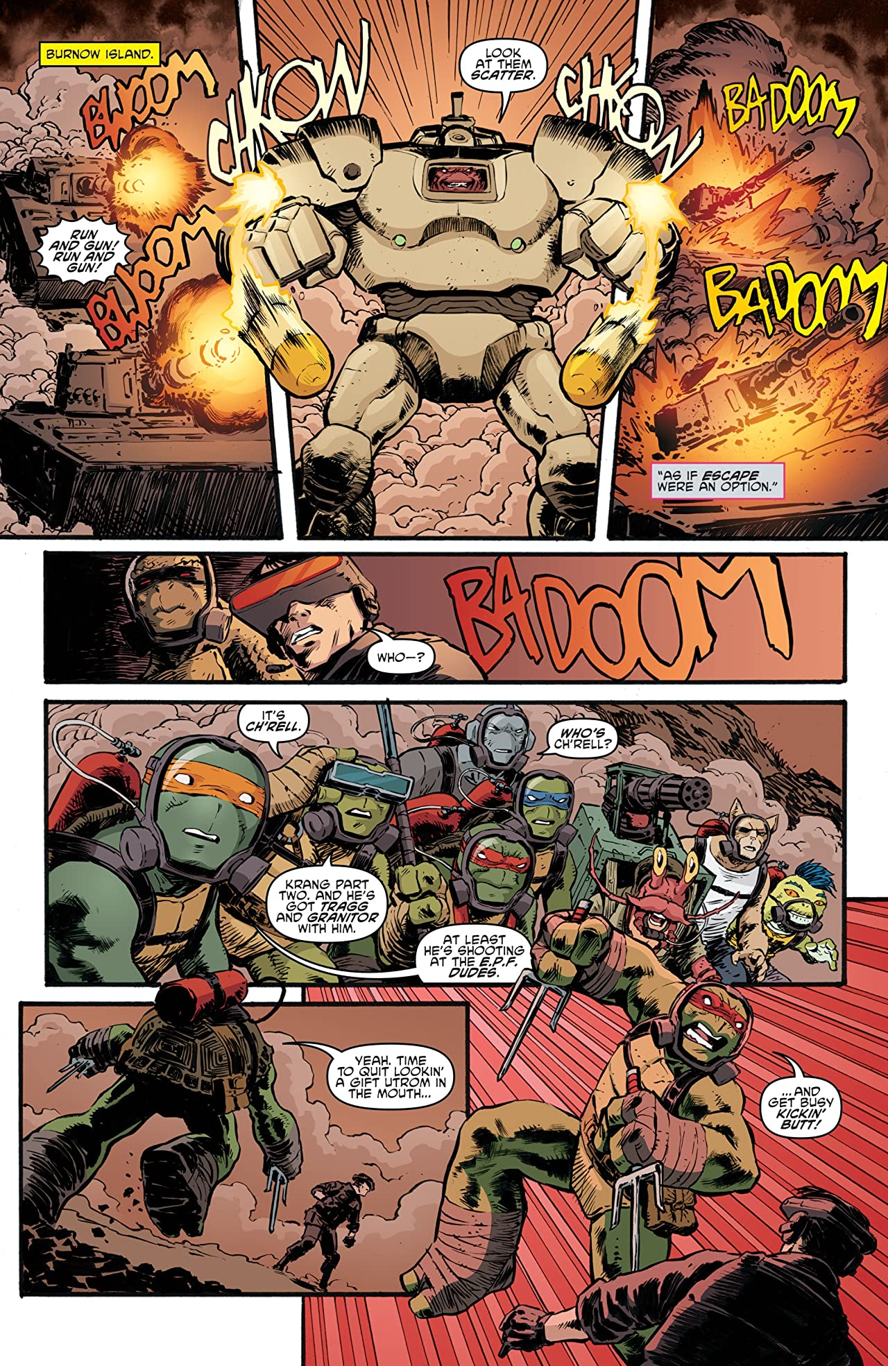 Teenage Mutant Ninja Turtles #88