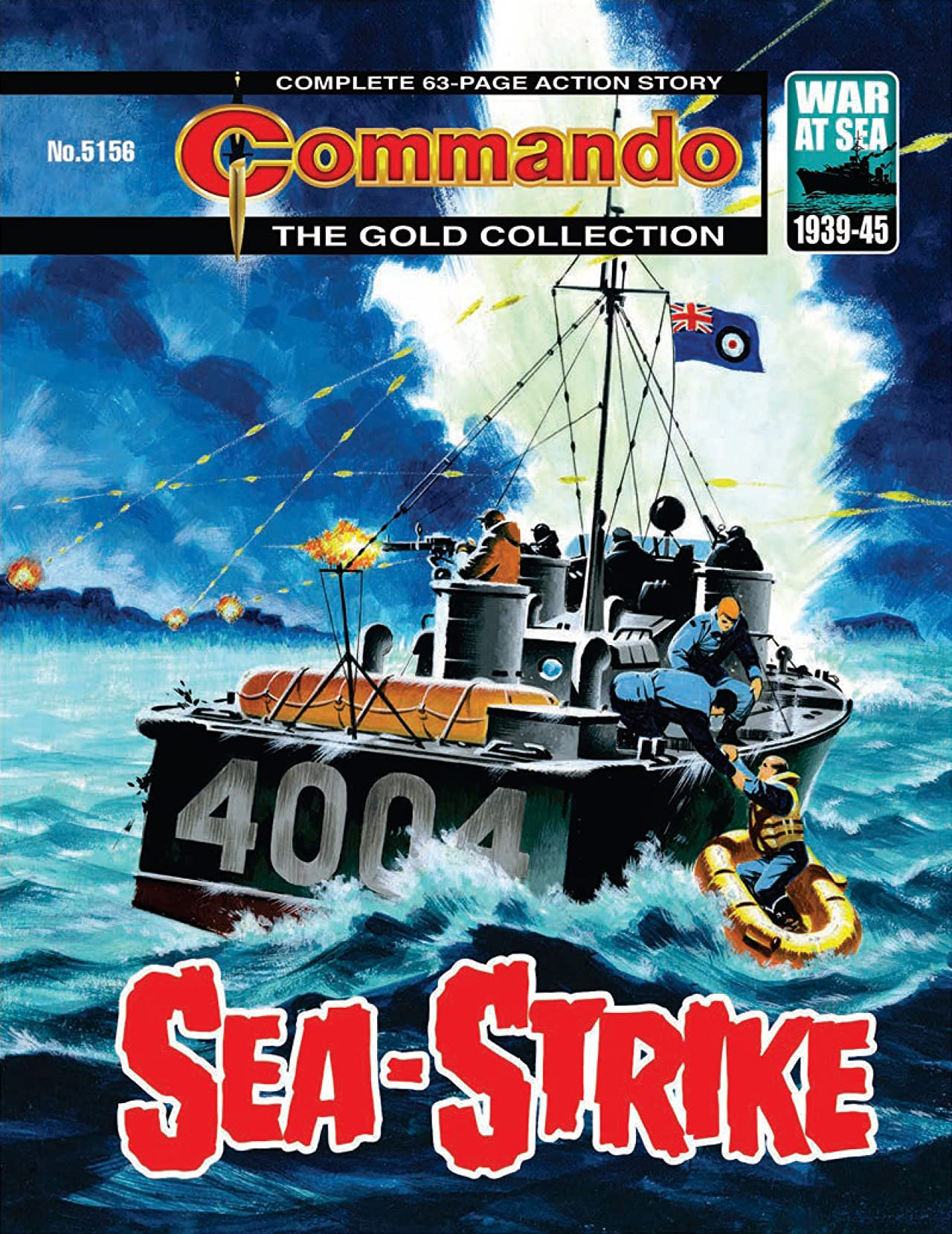 Commando #5156: Sea-Strike