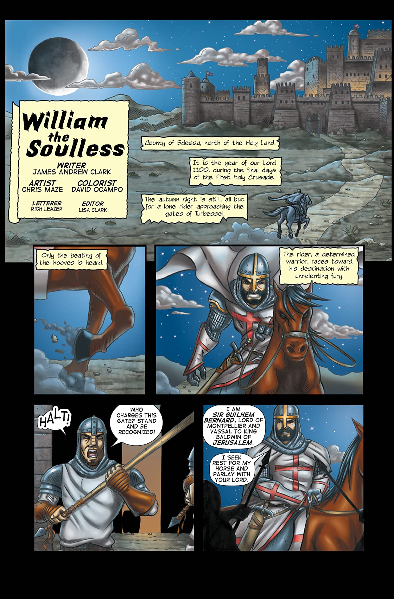William the Soulless #0