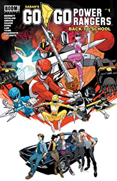 Saban's Go Go Power Rangers: Back to School