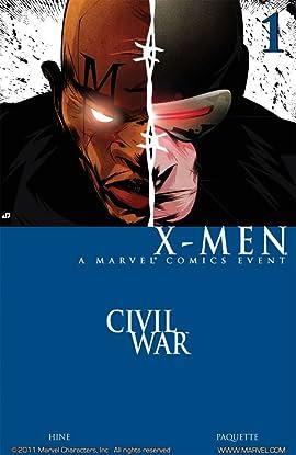 Civil War: X-Men #1 (of 4)