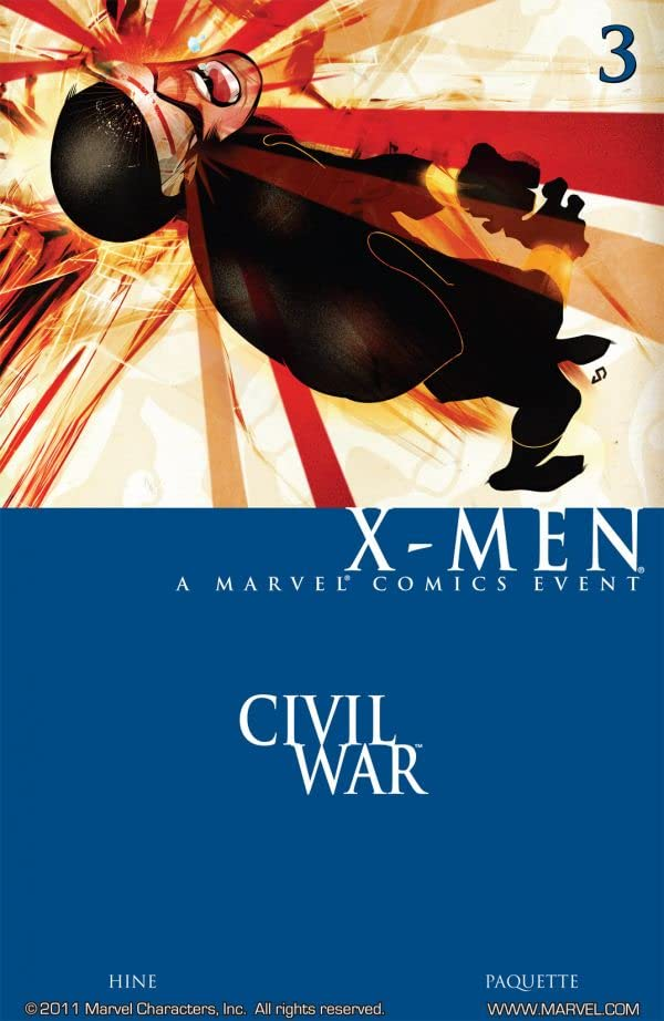 Civil War: X-Men #3 (of 4)