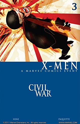 Civil War: X-Men #3
