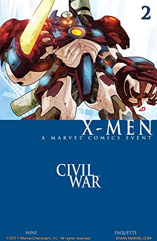 Civil War: X-Men #2 (of 4)