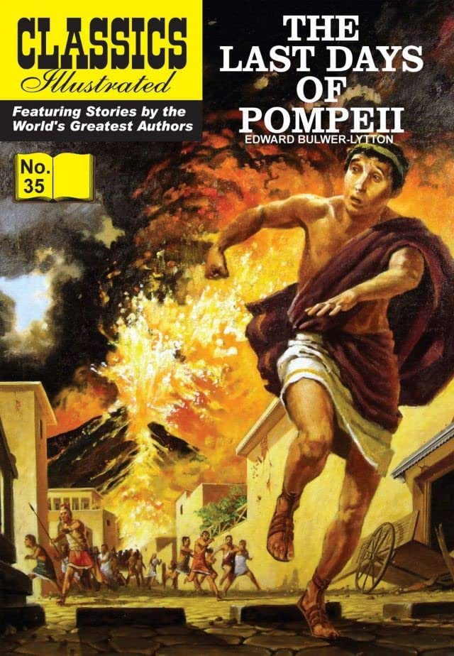 Classics Illustrated #35: Last Days of Pompeii