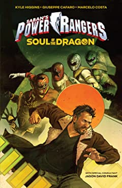 Saban's Power Rangers Original Graphic Novel: Soul of the Dragon