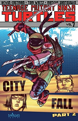 Teenage Mutant Ninja Turtles Tome 7: City Fall, Part 2