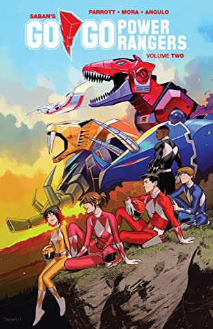 Saban's Go Go Power Rangers Tome 2