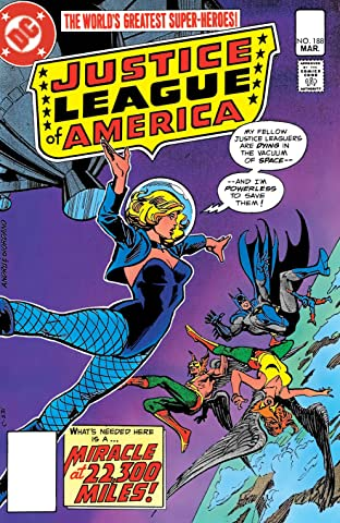 Justice League of America (1960-1987) #188
