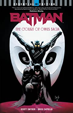 Batman: The Court of Owls Saga: (DC Essential Edition)