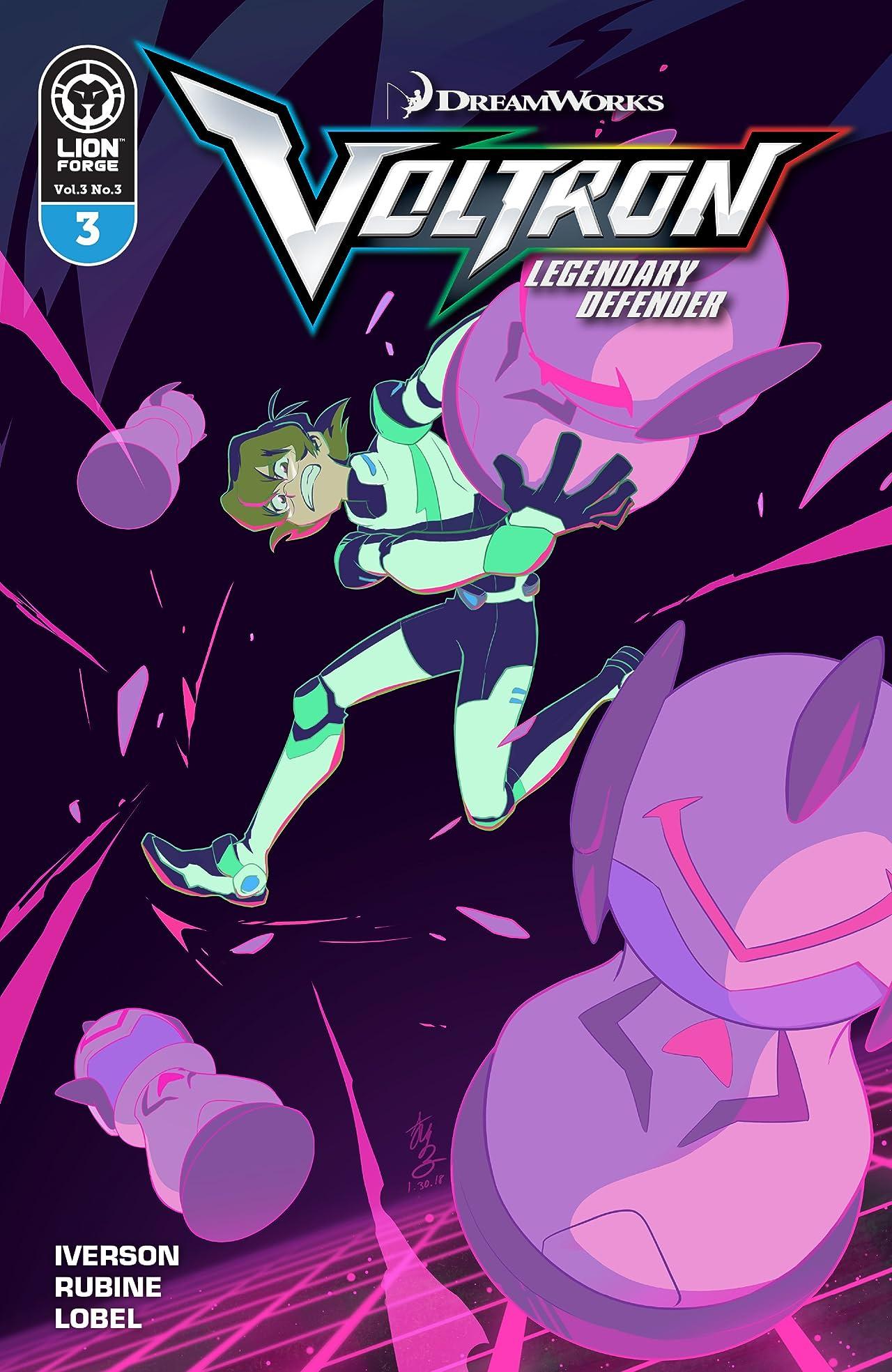 Voltron Legendary Defender Vol. 3 #3