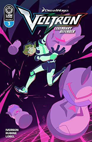 Voltron Legendary Defender Vol. 3 #3
