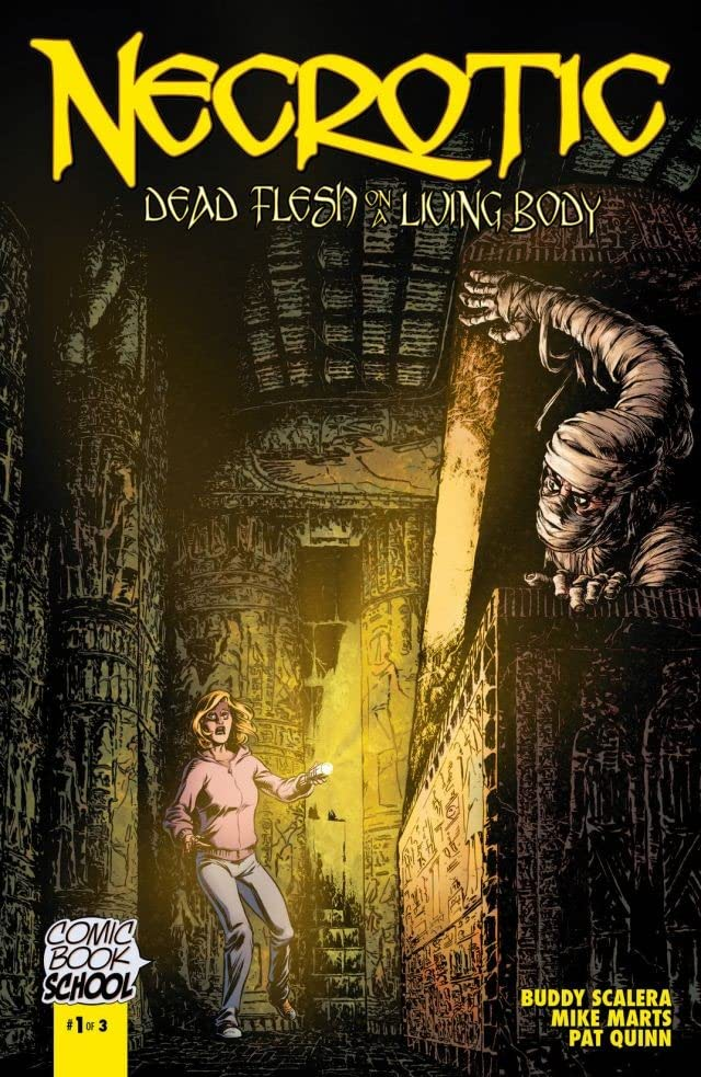 Necrotic: Dead Flesh on a Living Body #1