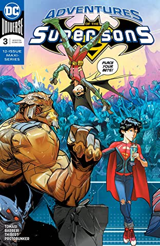 Adventures of the Super Sons (2018-2019) #3