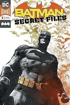 Batman Secret Files (2018) No.1