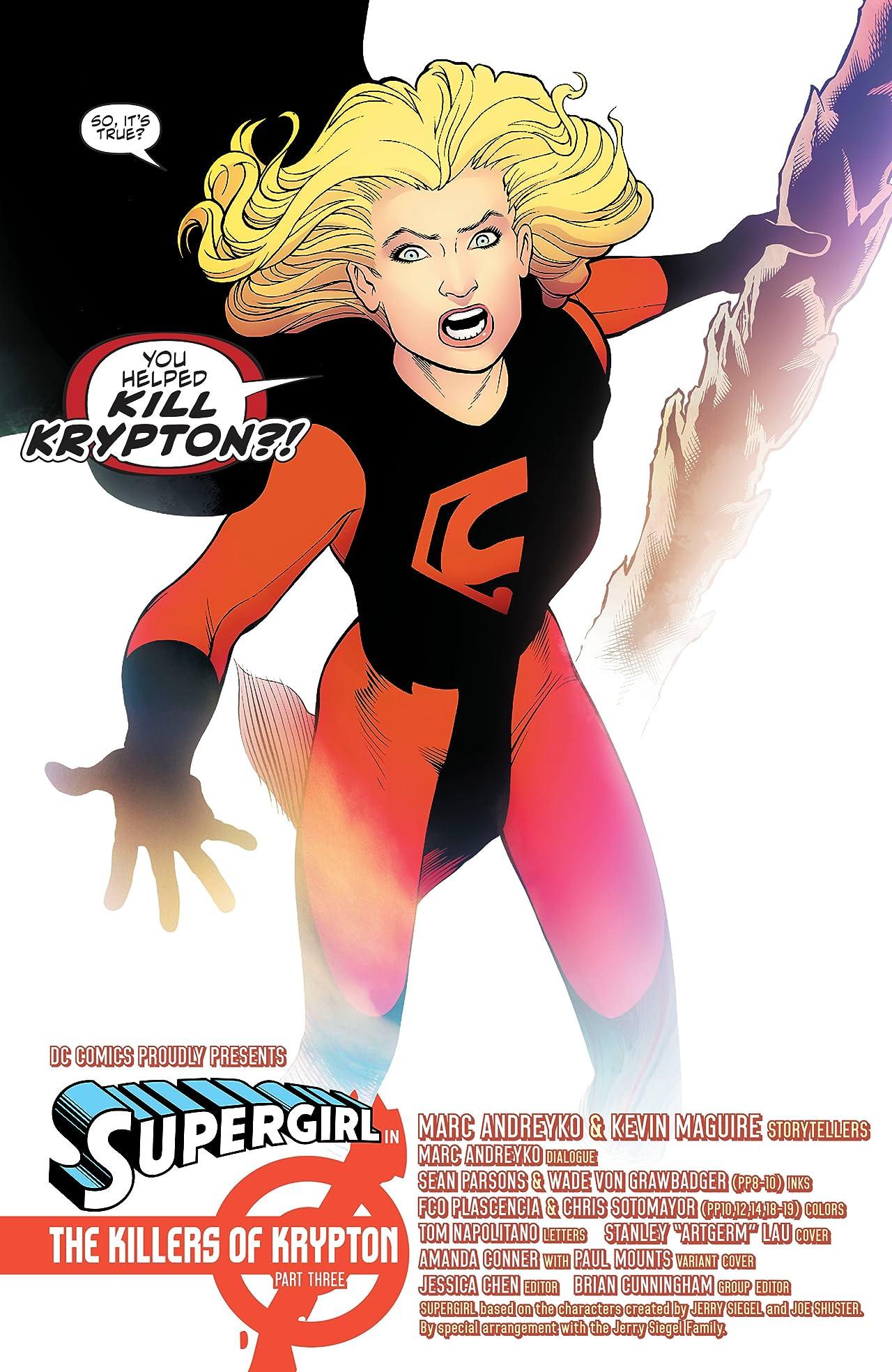 Supergirl (2016-) #23