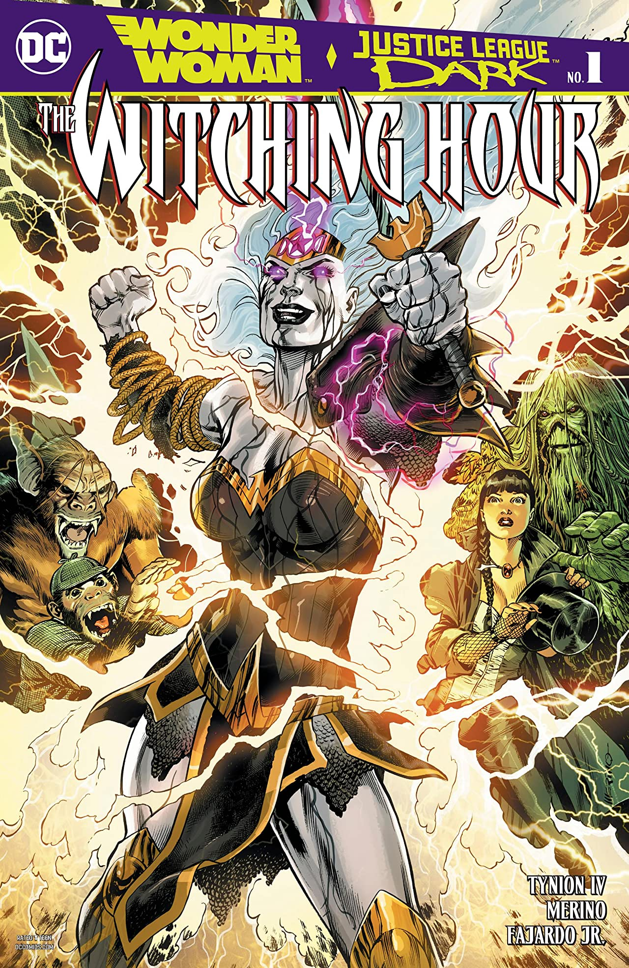 Wonder Woman and Justice League Dark: Witching Hour (2018-) No.1