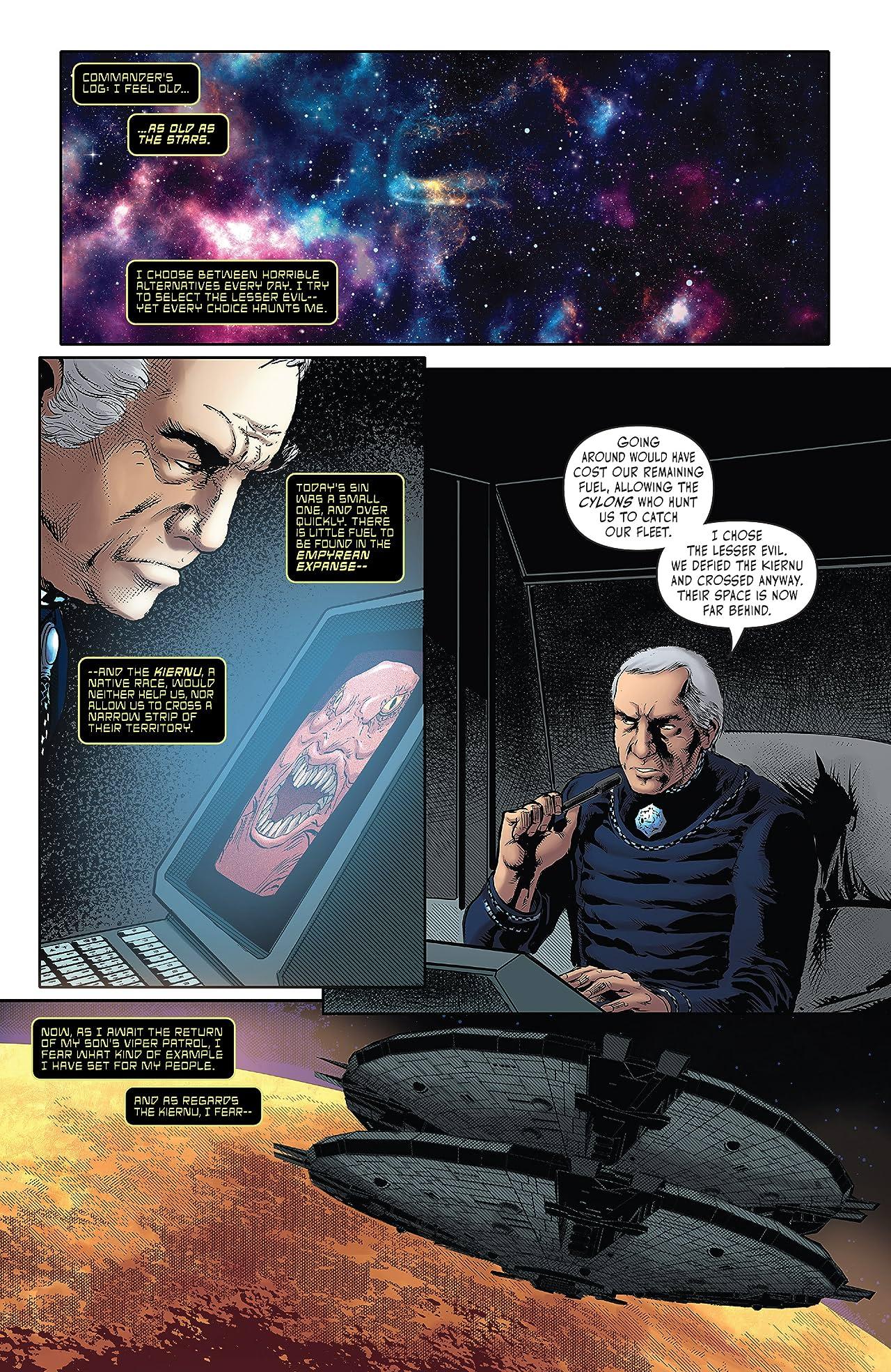 Battlestar Galactica Classic #1