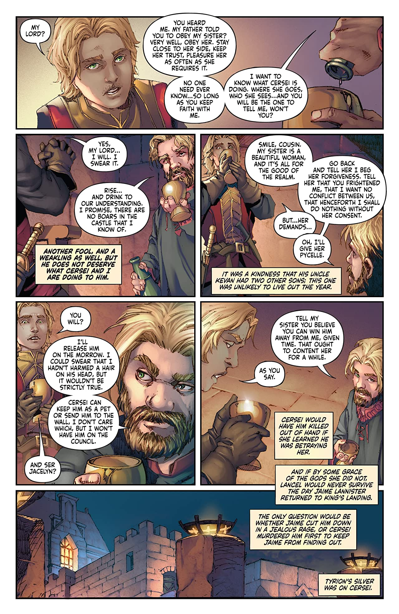 George R.R. Martin's A Clash Of Kings: The Comic Book No.16