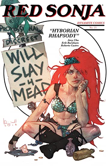 Image result for red sonja 23 will slay for mead