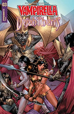 Vampirella/Dejah Thoris No.3