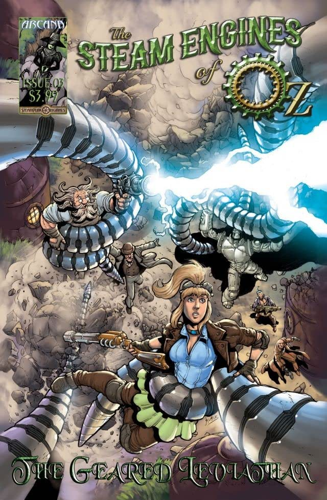 The Steam Engines of Oz #3: The Geared Leviathan
