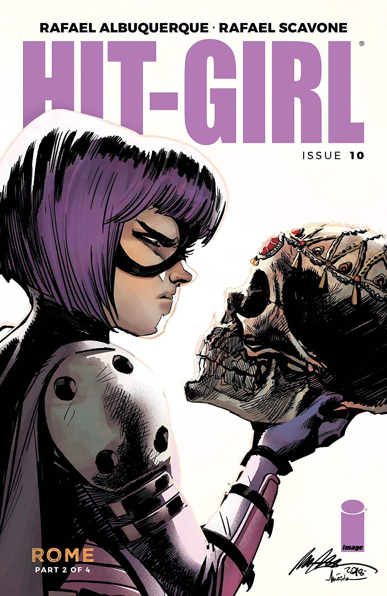 Hit-Girl No.10