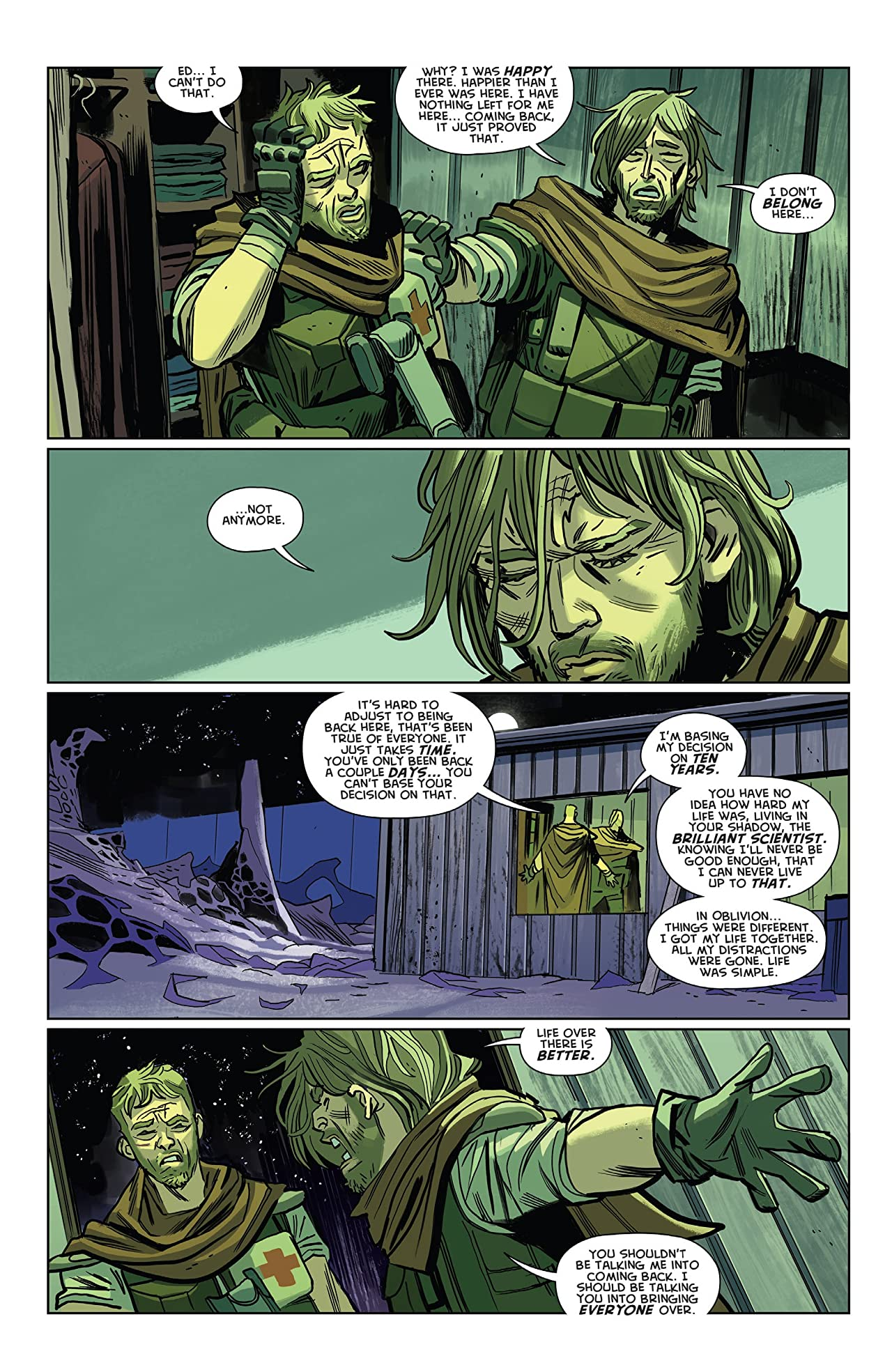 Oblivion Song By Kirkman & De Felici No.9