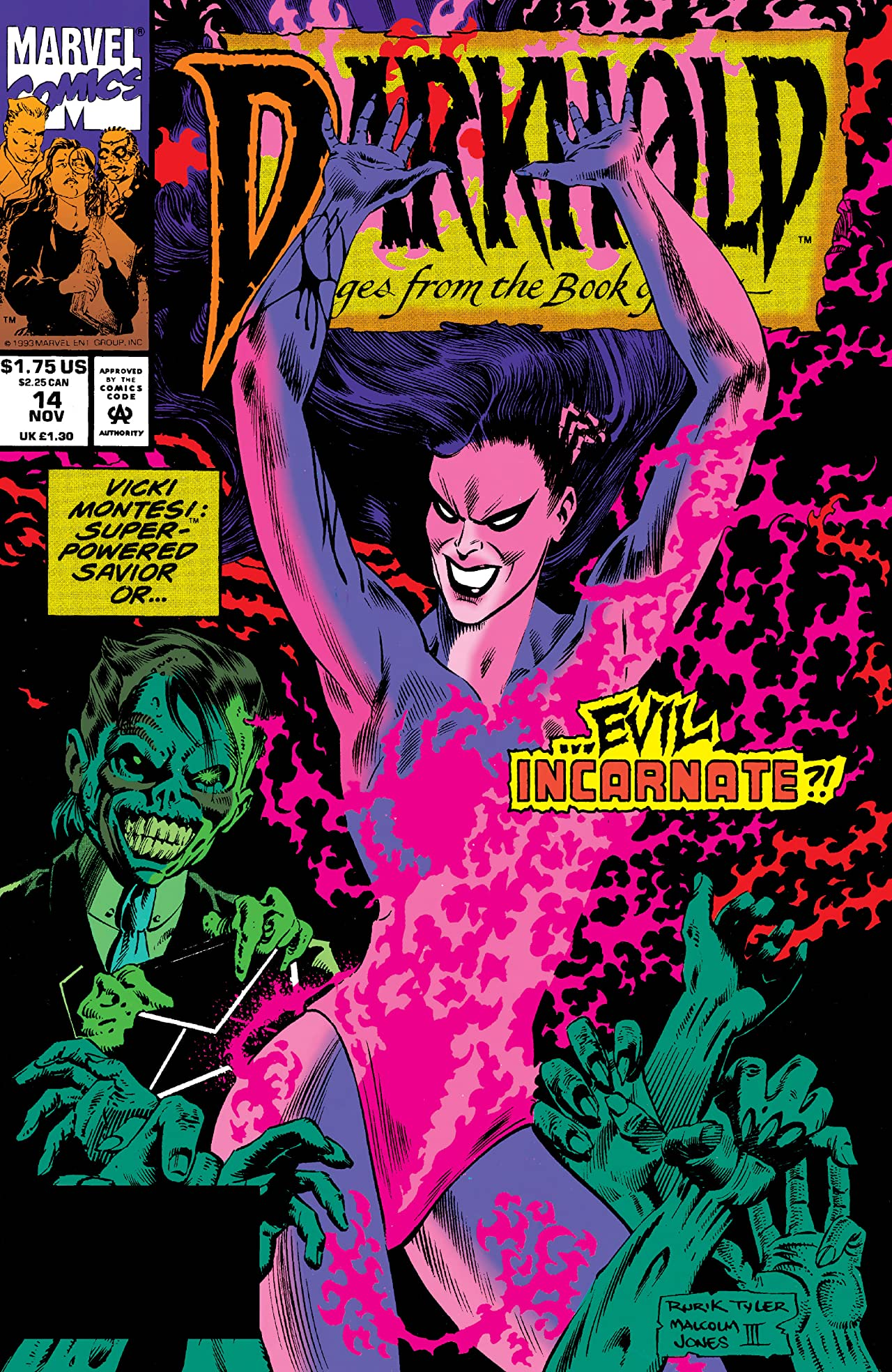 Darkhold: Pages From The Book Of Sins (1992-1994) #14
