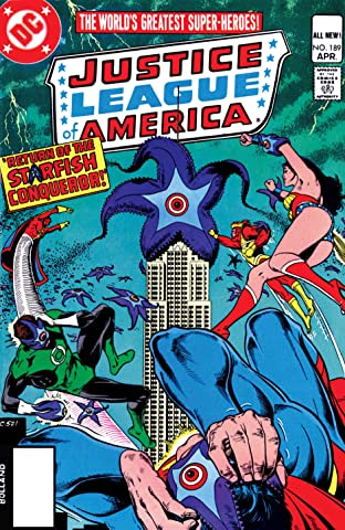 Justice League of America (1960-1987) #189