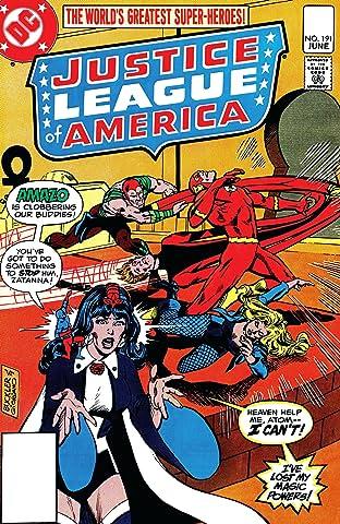 Justice League of America (1960-1987) #191