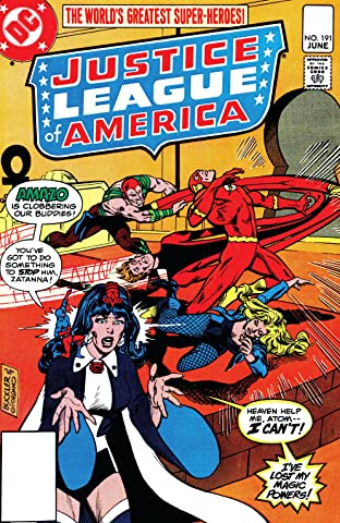 Justice League of America (1960-1987) #191