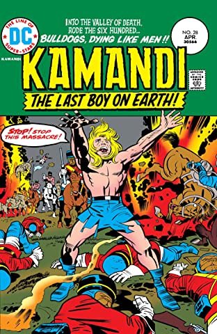 Kamandi: The Last Boy on Earth (1971-1978) #28
