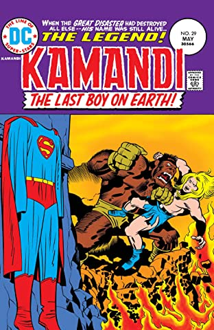 Kamandi: The Last Boy on Earth (1971-1978) #29