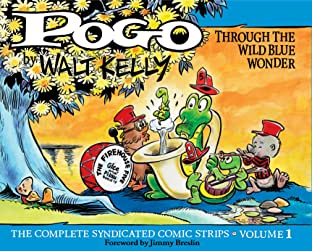 Pogo: The Complete Daily & Sunday Comic Strips Tome 1: Through the Wild Blue Wonder
