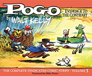 Pogo: The Complete Daily & Sunday Comic Strips Tome 3: Evidence to the Contrary