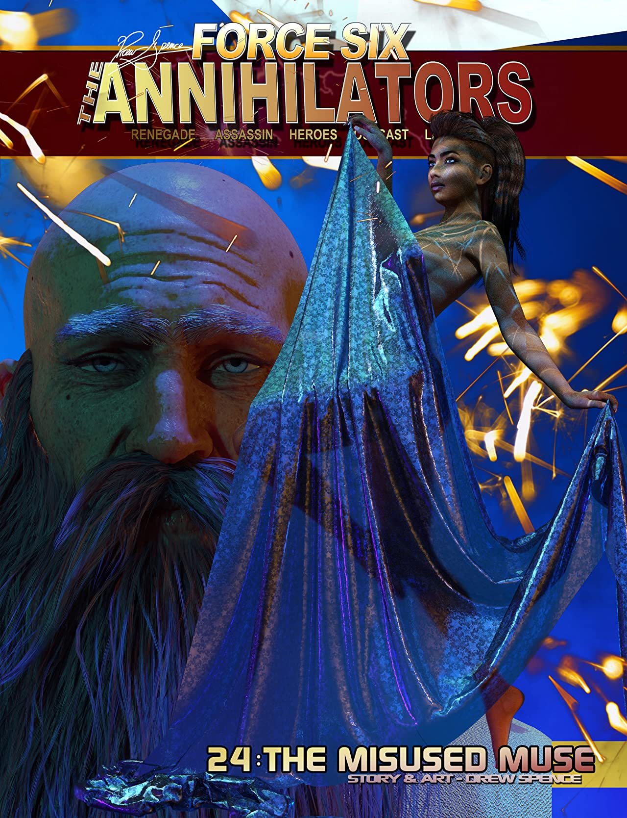 Force Six, The Annihilators #24: The Misused Muse
